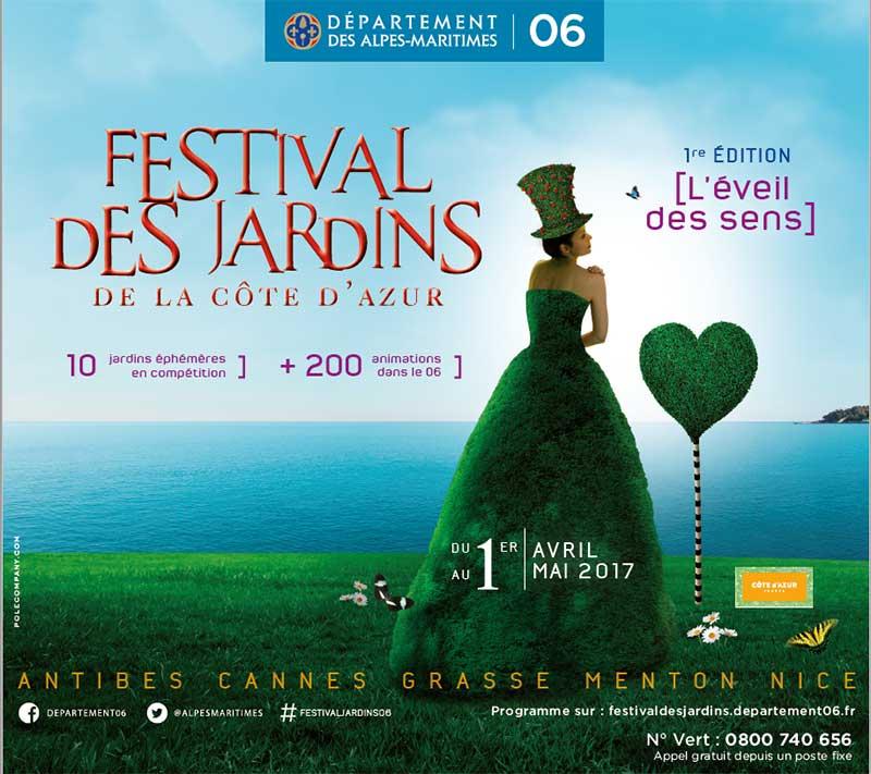 Festival des Jardins Nice 2017