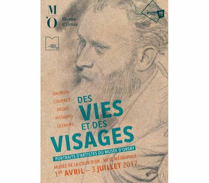 Portraits d'artistes du musée d'Orsay