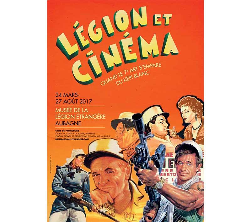 Légion et cinéma à Aubagne
