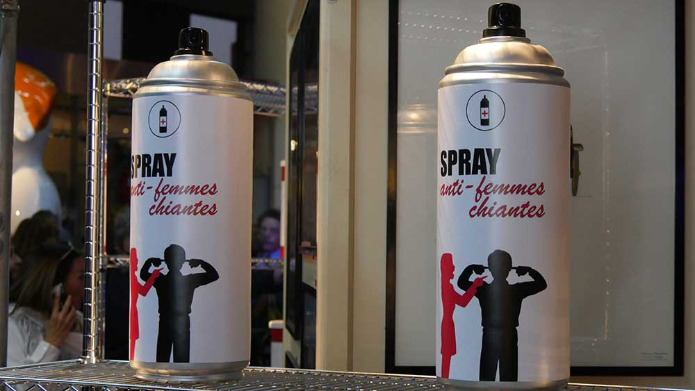 Stéphane Bolongaro 2017 Monaco - Spray