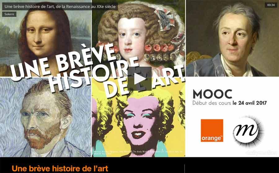 Mooc - Une brève histoire de l'art