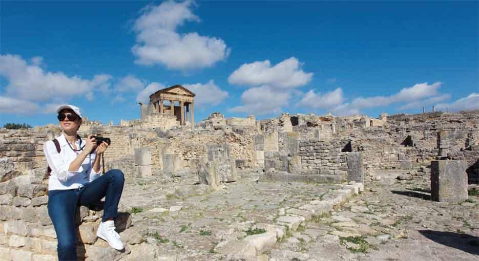 Dougga - 20ème anniversaire de l'inscription du site de Dougga sur la liste du patrimoine mondial