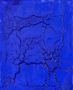 Philippe Pastor, 1961 Monaco Bleu monochrome (12 078 BM), 2012, 162 x 130 cm