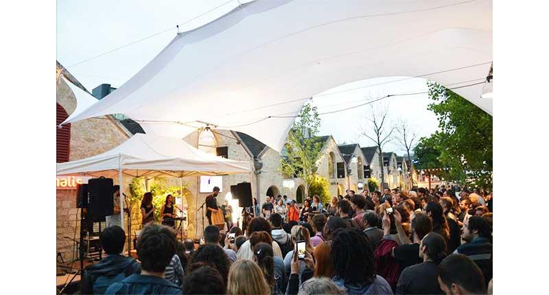 Bercy Village festival opéra coté cour