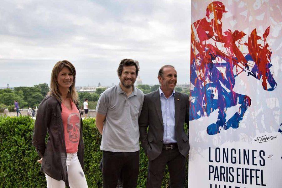 Guillaume Canet au Longines Paris Eiffel Jumping