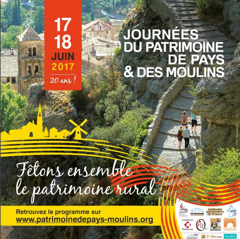 Journées du Patrimoine - Journées du Patrimoine de Pays et des Moulins