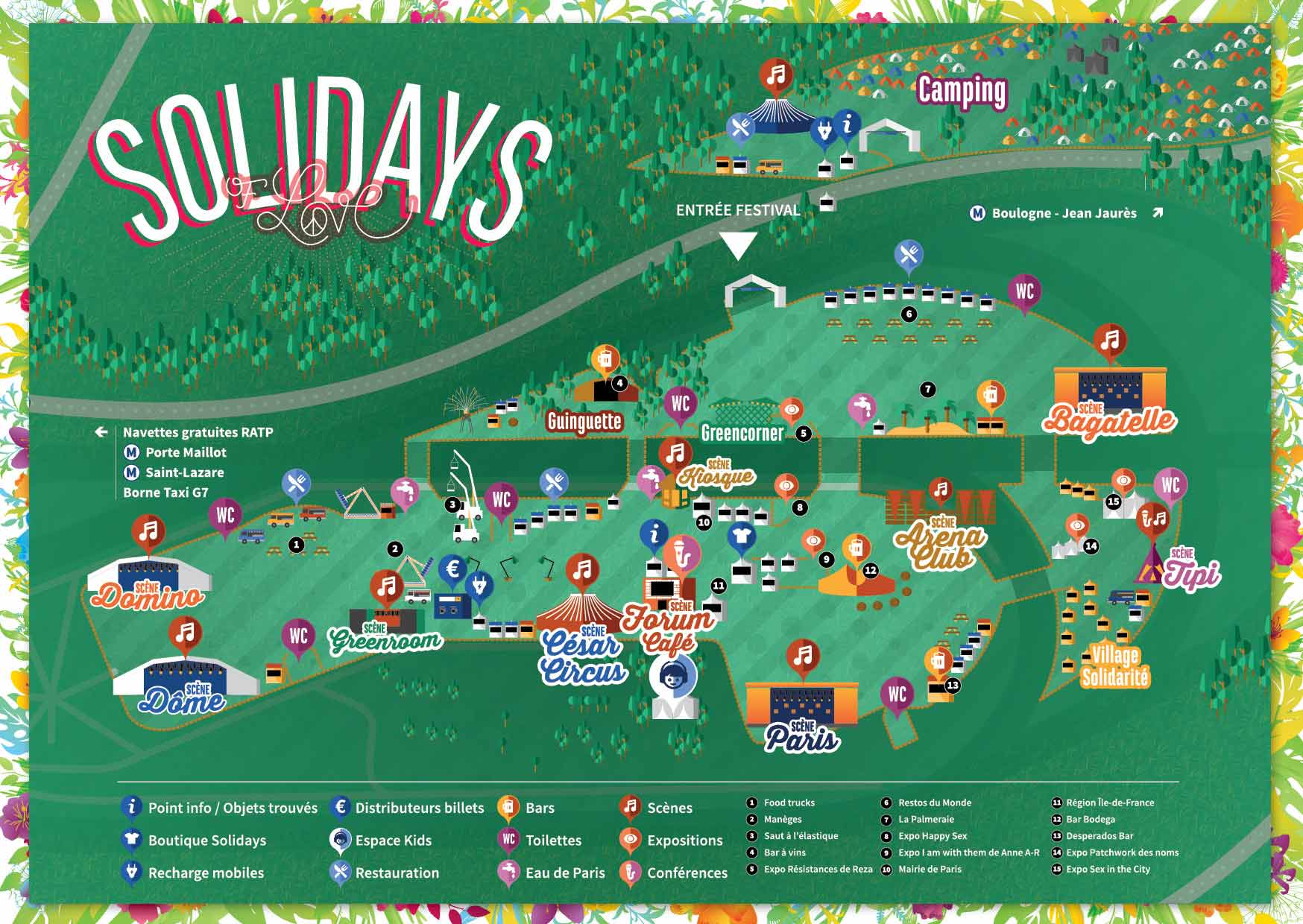 solidays 2017 plan