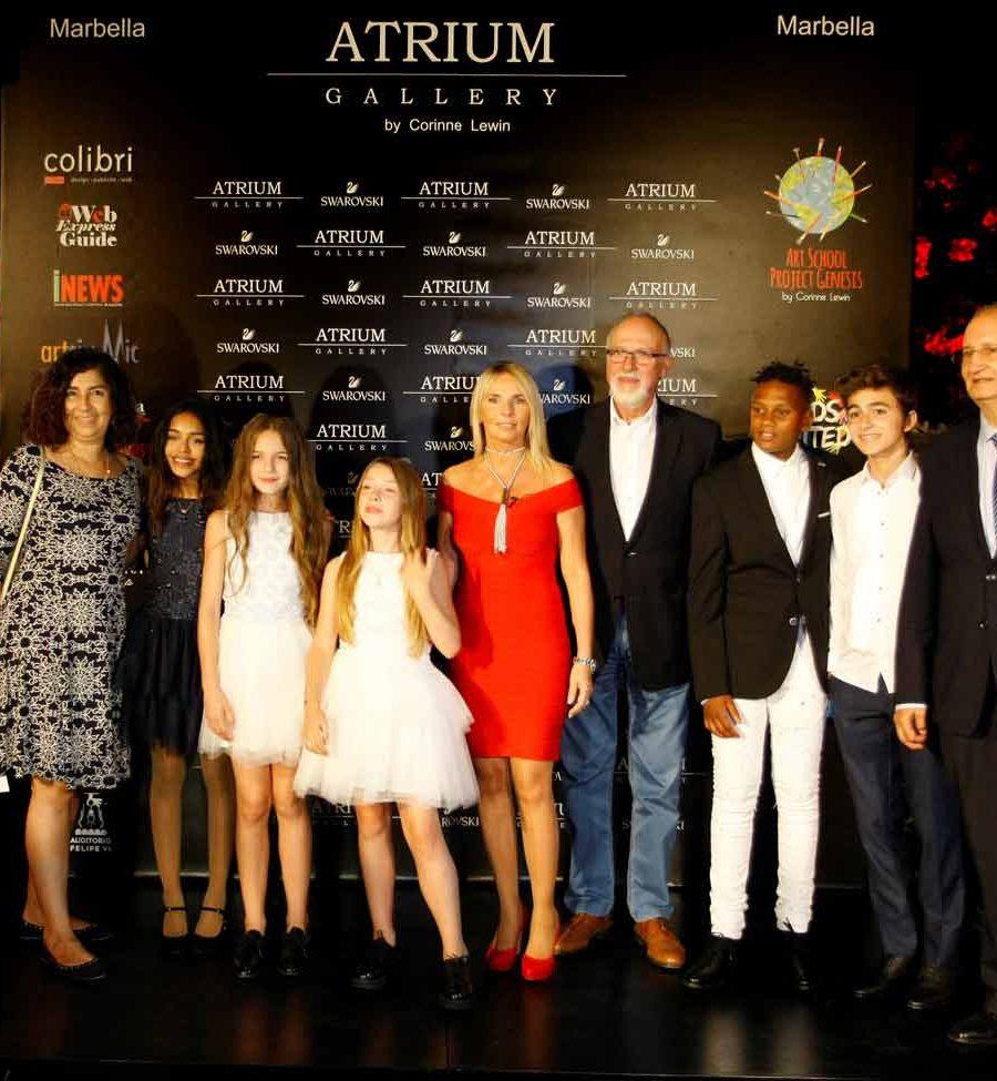 Corinne Lewin et les Kids Untited et Alain Pierard