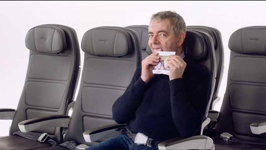 British Airways Rowan Atkinson