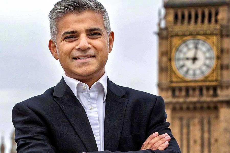 Sadiq Khan le maire de Londre