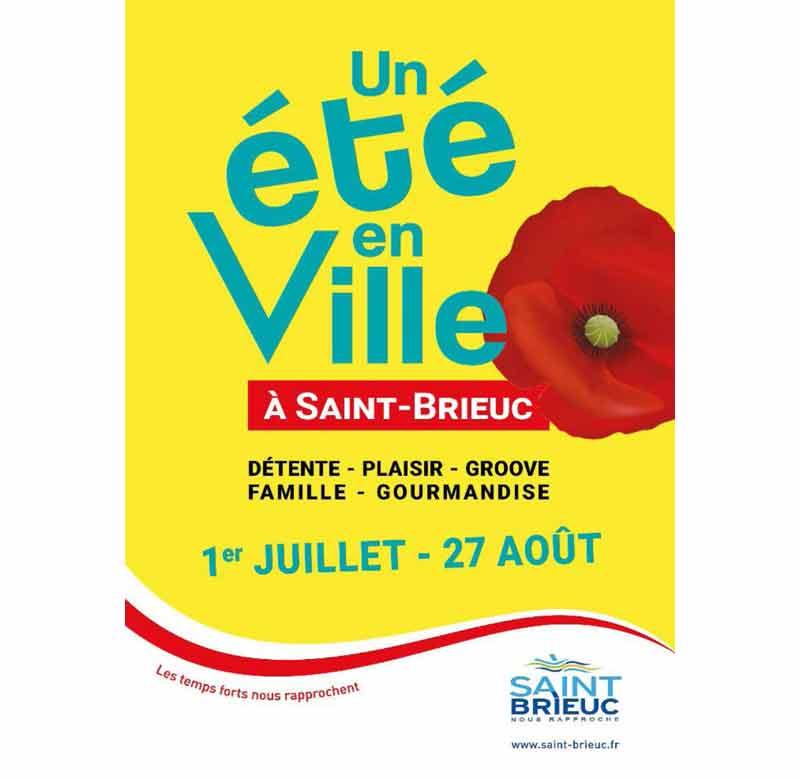 Saint-Brieuc - Un été festif et convivial!