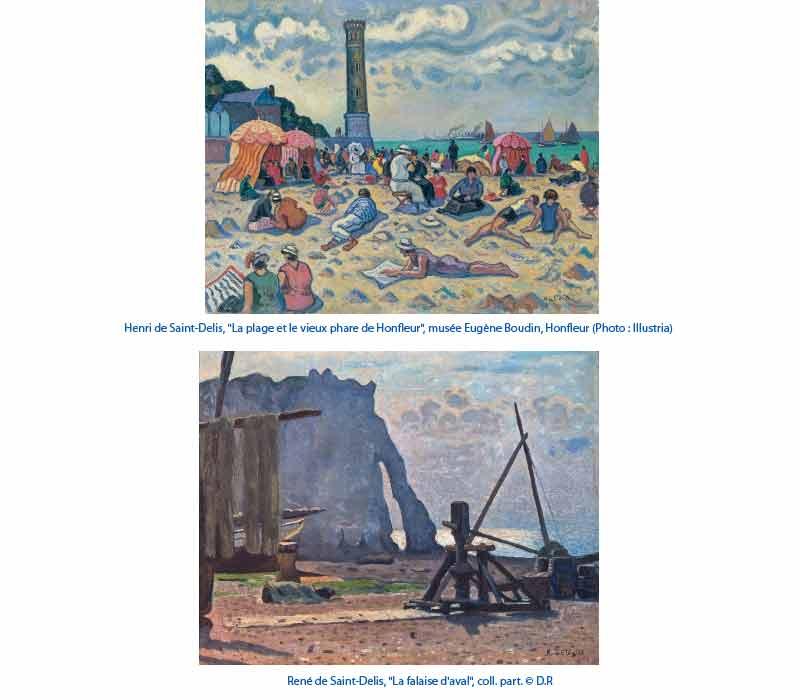 Saint-Delis : Henri (1878-1949) et René (1876-1958) de Saint-Delis
