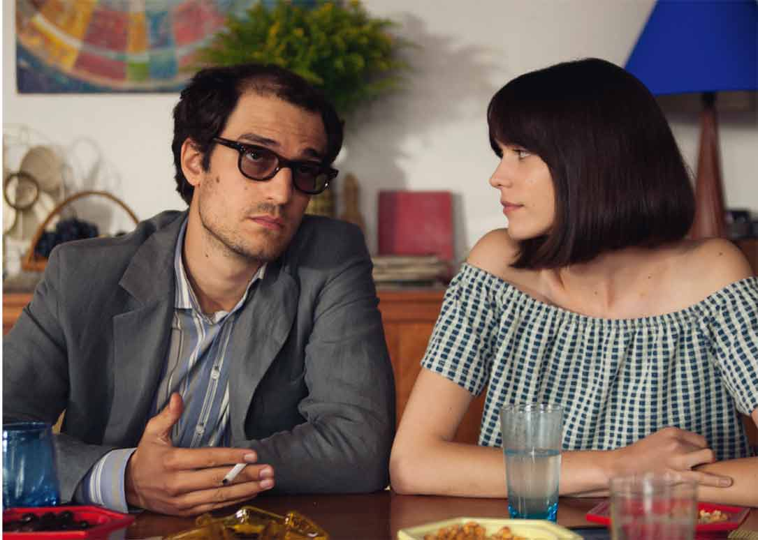 Louis Garrel et Stacy Martin