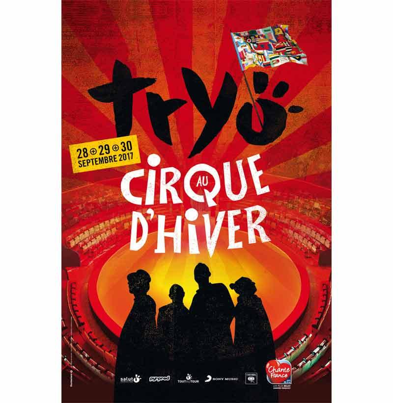 Tryo au cirque d'hiver