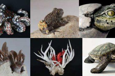 Céramiques sauvages - bestiaire de sculptures céramiques