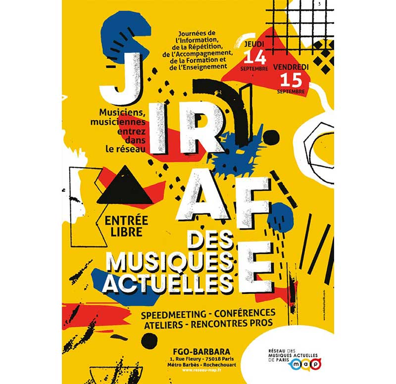 JIRAFE des Musiques Actuelles