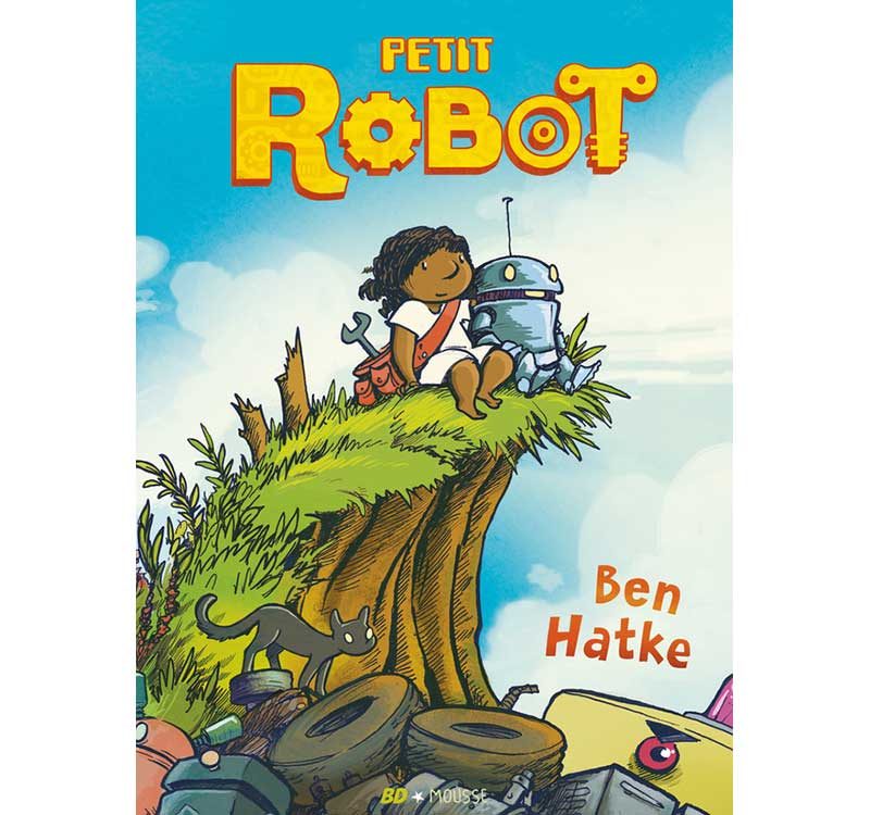 petit robot aux éditions Frimousse