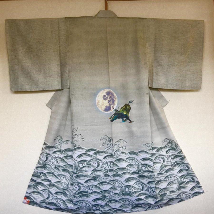 Kimono1 - Artiste RYUICHI FUJISAWA - expo Sumi no keshiki