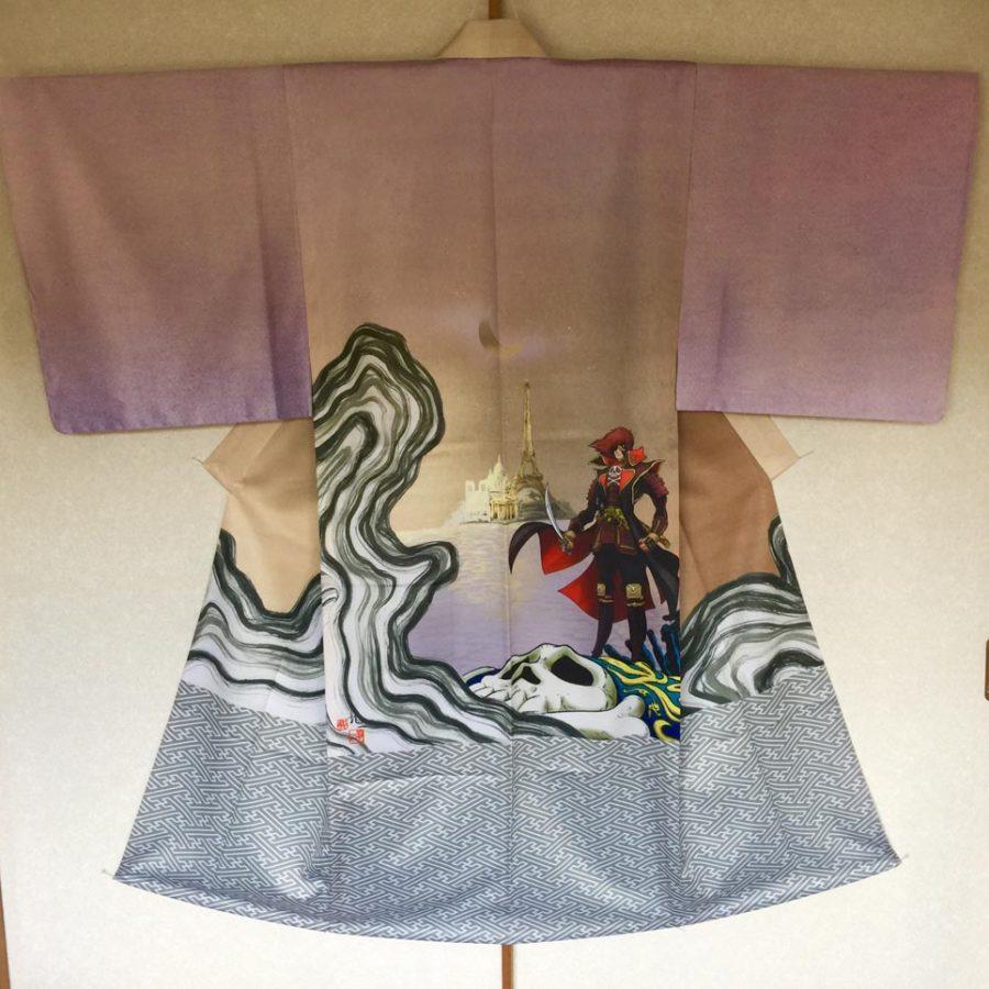 Kimono3- Artiste RYUICHI FUJISAWA - expo Sumi no keshiki