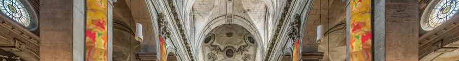 Ryszard Kiwerski : Solaires à l'église Saint-Sulpice