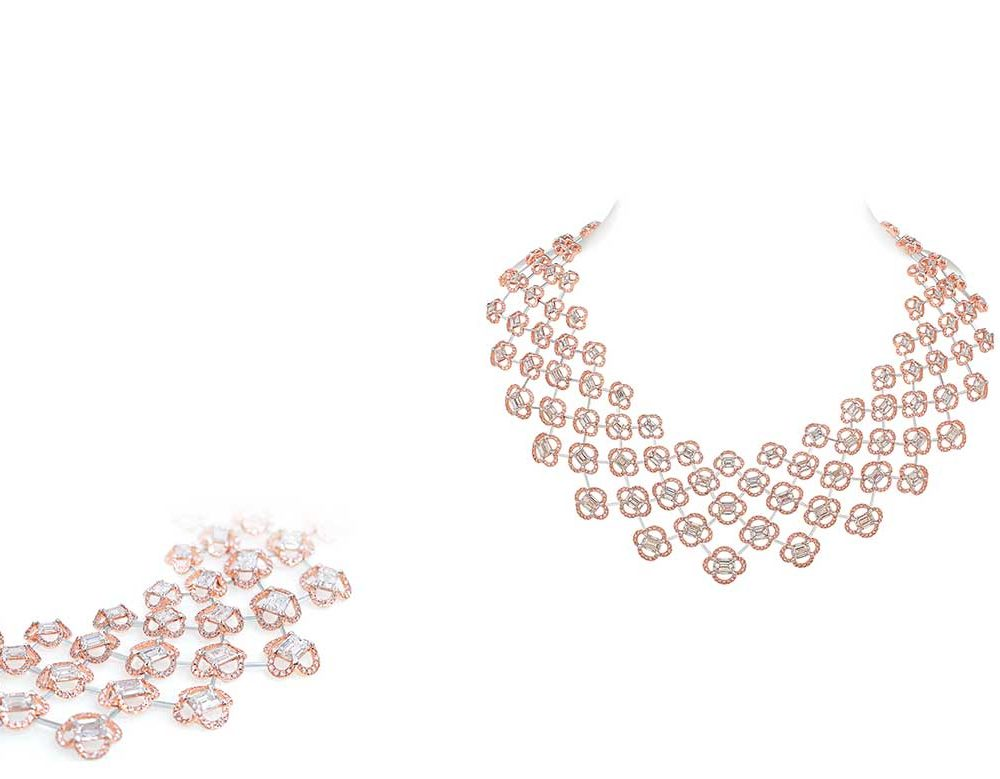 Nirav Modi - Sakura Necklace and Earrings