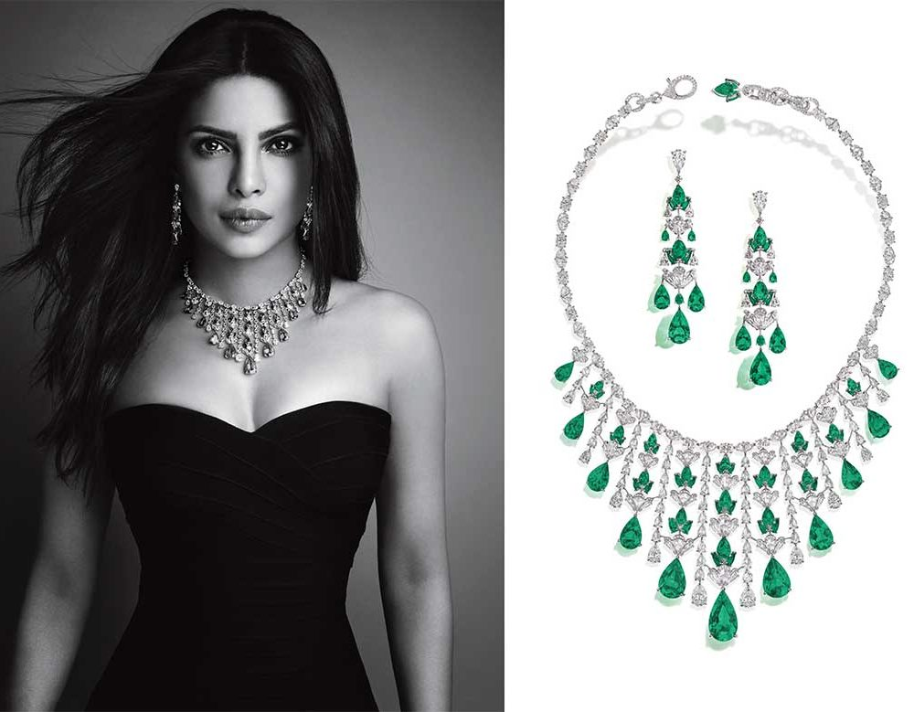 Nirav Modi - Emerald Waterfall Necklace
