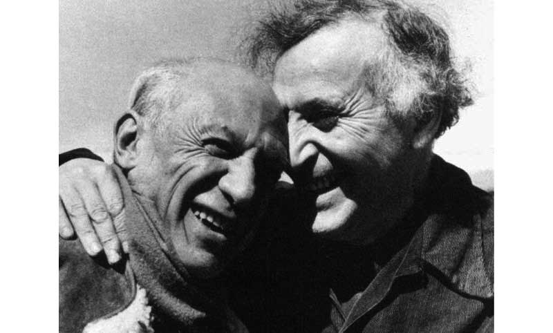 Chagall et Picasso