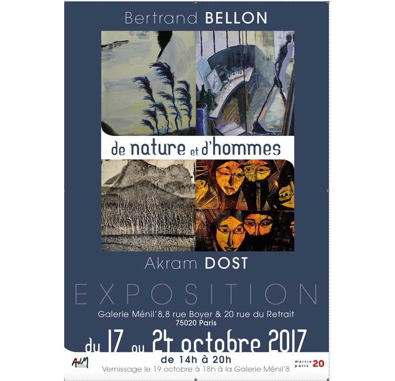 Ménil'8 - La Galerie Ménil'8 présente De nature et d'hommes