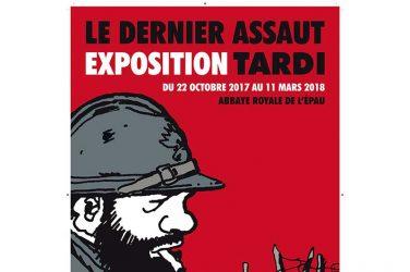 Tardi expose à l'Abbaye royale de l'Epau