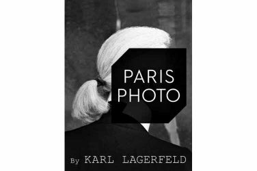 Paris Photo 2017 avec Karl Lagerfeld