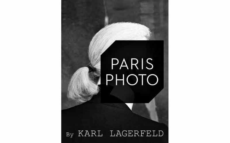 Paris Photo 2017 avec Karl Lagerfeld