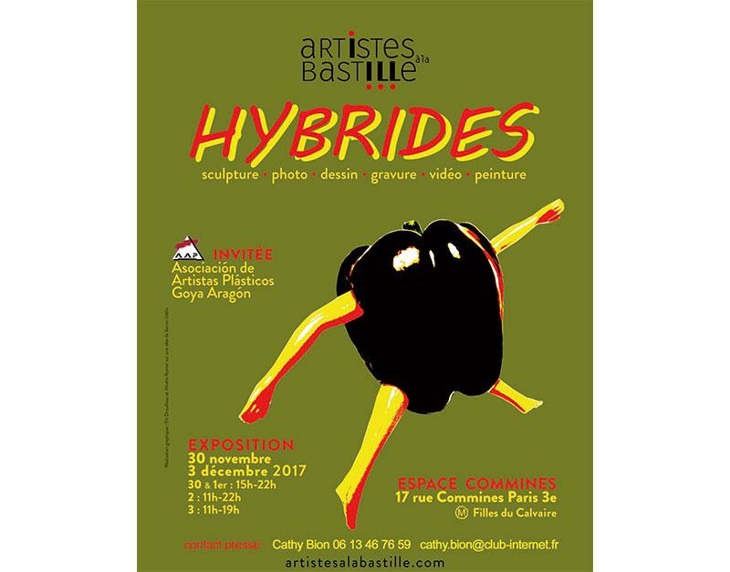 Hybrides d'Artistes à la Bastille