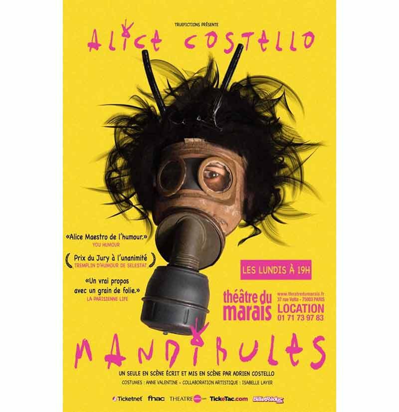 MANDIBULES, un seul en scène burlesque et post apocalyptique