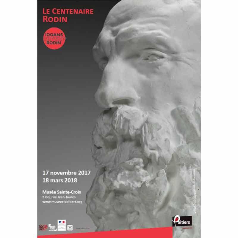 Auguste Rodin : Le Musée Sainte-Croix célèbre le Centenaire de la mort de Rodin