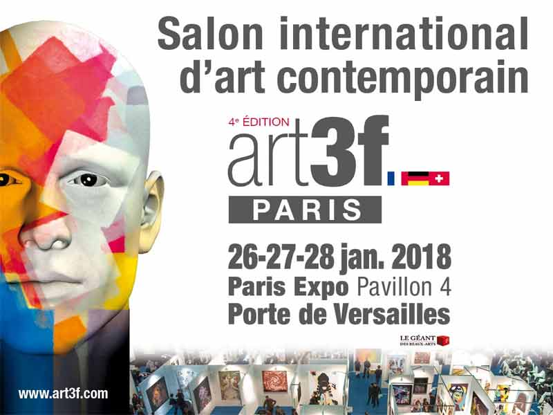 Art3f Paris - Janvier 2018