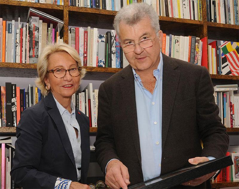 Daniel et Florence Guerlain