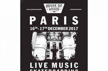 House of Vans Paris se tiendra dans un lieu tenu secret