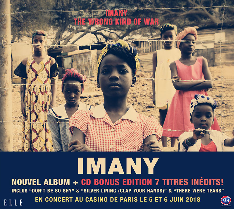 Imany : The Wrong King Of War