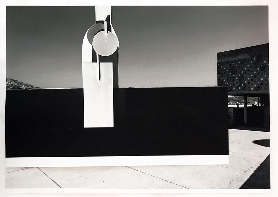Xavier Veilhan - Collage n°5 (2017) - 29,7 x 41, 7 cm - © Veilhan / ADAGP, Paris, 2017