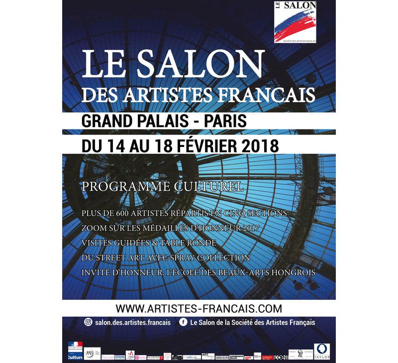 Artistes Français 2018 : Salon des Artistes Français