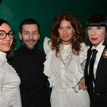 Manko Paris : Le groupe Brigitte, Alexis Mabille et Chantal Thomas @Veeren-Bestimage