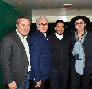Manko Paris : Benjamin Patou, Alain Ducasse, Akrame Benallal, Marc Veyrat ©Veeren-Bestimage