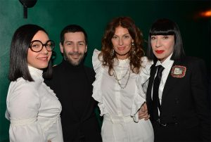 Manko Paris : Le groupe Brigitte, Alexis Mabille et Chantal Thomas @Veeren-Bestimage