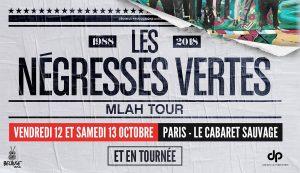 Négresses Vertes : Le MLAH Tour 2018