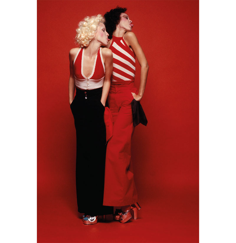 Peter Knapp : Pat Cleveland et Donna Jordan, 1972 © Peter Knapp
