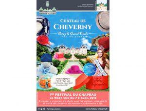 Cheverny : festival du chapeau français