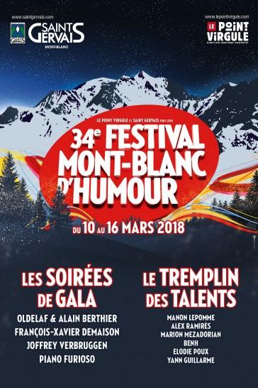 34ème Festival Mont-Blanc d'Humour à Saint-Gervais-les-Bains