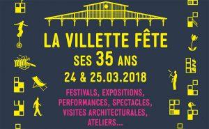Villette : 35 ans 100 % Villette. Un grand week-end anniversaire festif