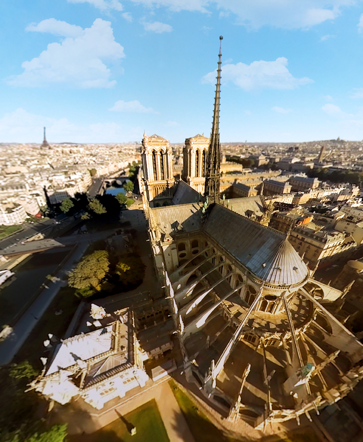 FlyView : Notre Dame
