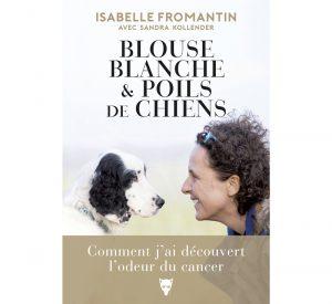 Isabelle Fromantin : Blouse blanche et poils de chien
